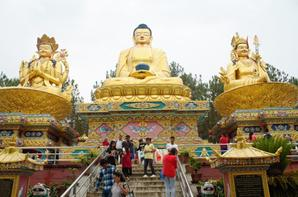Buddha Park at the Swyambhunath