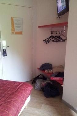 Mon chéri et moi dans notre hôtel à Metz <3 (Passer son concours sous officier)