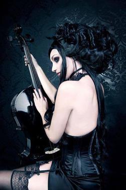 petite série de femmes gothiques.