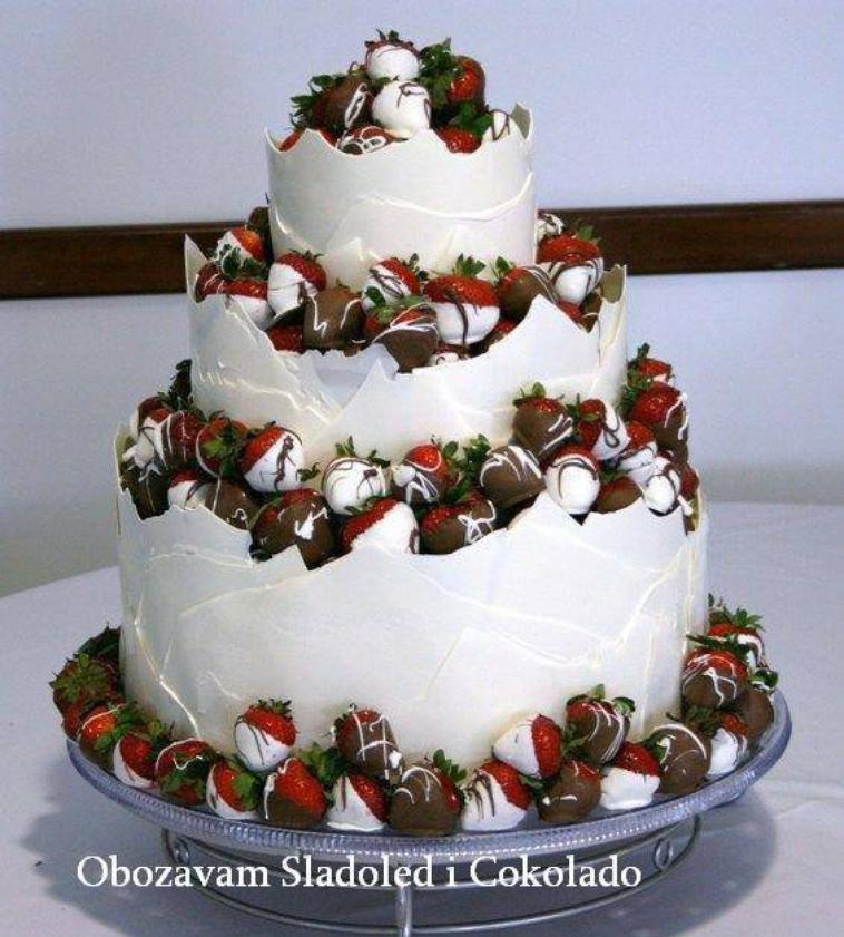 délices de fraises ... =P