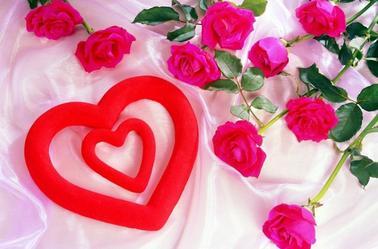 une rose, deux roses, trois roses,  pour te montrer comme je t'aime !