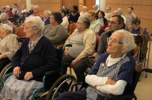 démo à la maison de retraite des Petites Soeurs à Metz le 23 novembre 2013