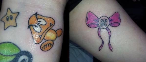 Mes tatoos <3