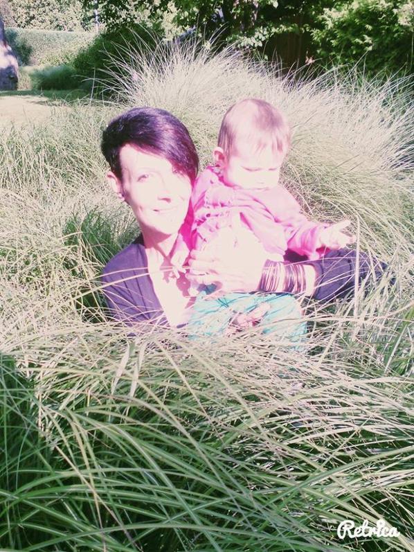 ma petite princesse au parc