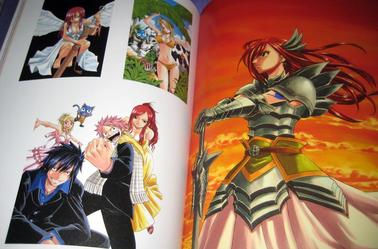 Fairy tail livre fantasia illustration !!