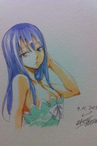 New dessins d'Hiro Mashima !