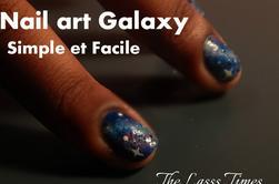 Nail art : Galaxy