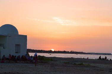 Coucher de soleil à Djerba