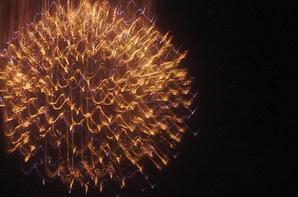 le feu d'artificice du 15 âout