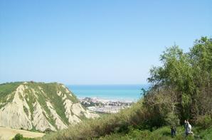 Côté mer et plage des Abbruzes
