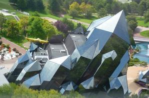Architecture du futuroscope de Poitier