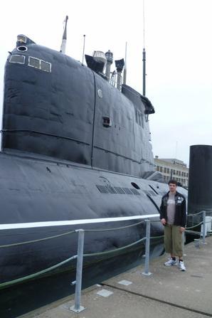 Moi et le sous marin soviétique de 1969