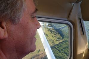 Balade en avion audessus des fagnes belges