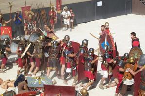 Spectacle sur le terme des romains à Orange