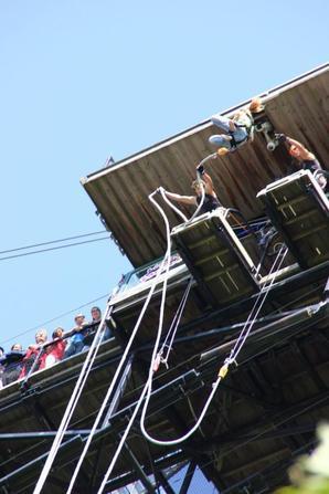 Viaduc de la Souleuvre 3/08/14 5eme et 6 eme sauts