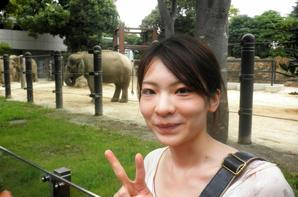 Zoo d'Ueno avec Yuko