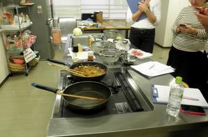 Cours de cuisine à Nogizaka