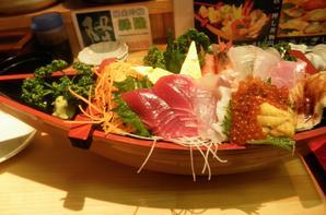 Château d'Odawara, et sushi de luxe!