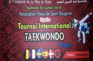 30-07-2016 TEAKWONDO 1ére EDITION INTERNATIONAL TANGER