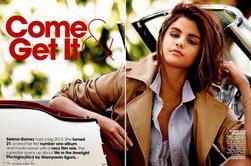 Scans du Teen Vogue numéro de Décembre de Selena
