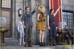 Katniss Everdeen et Peeta Mellark les amants maudits !