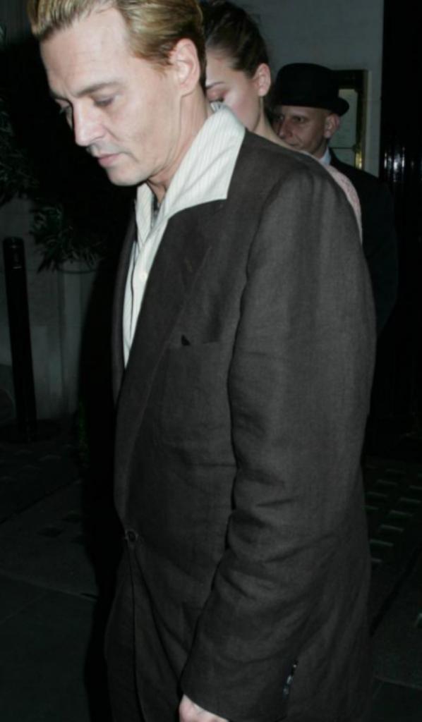 Johnny Depp teint en blond xD