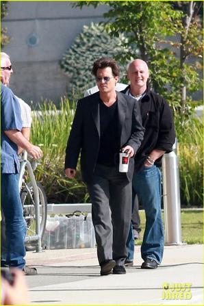 Johnny Depp dans Transcendence