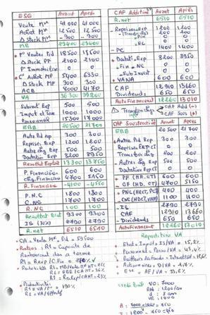 Exercice corrige 03 : Diagnostic financier - Analyse du CPC, activité (DARIJA)