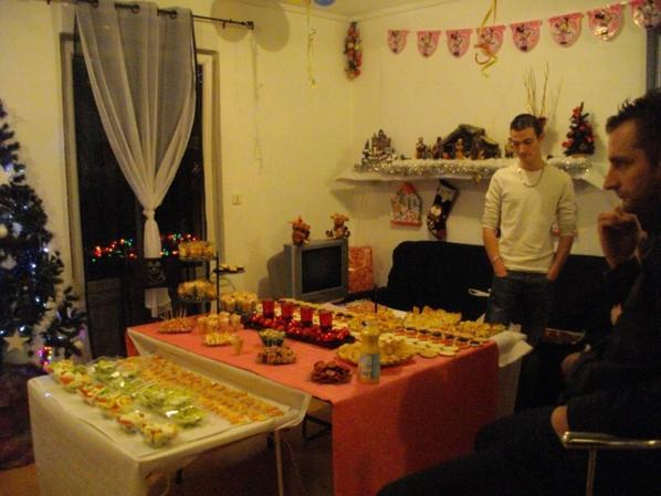 Le buffet de son anniversaire