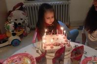 Le 6 Décembre 2013, tu fêtas tes 3 ans <3 Voila le gâteau!