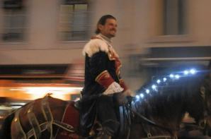 Après le patin à glace, la promenade à Nancy, et bien sur le soir on a vu le défilé du Saint Nicolas ..