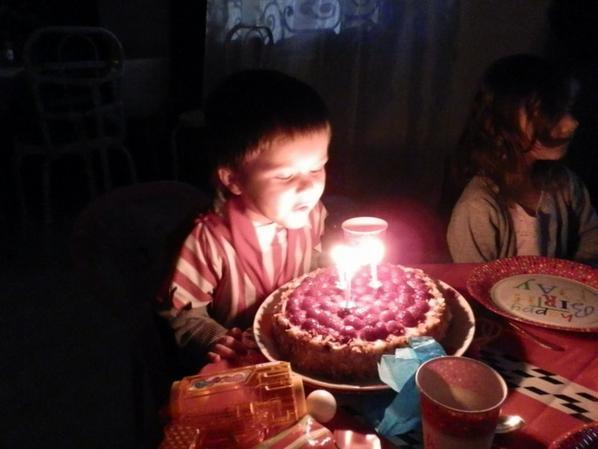 Voila le gâteau!