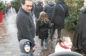 Grand moment en famille, nous avons étaient à la Féérie des Glaces à Metz tous ensemble