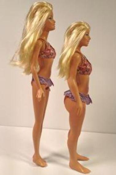 Barbie plus petite et plus ronde ♥