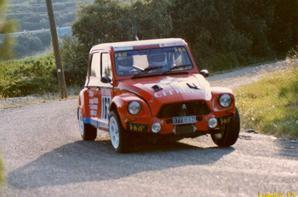 La Dyane en rallye - Rallye des Monts de Vaucluse 1997