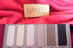 Revue : Naked basics d'Urban Decay