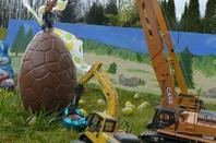 la récolte de la chasse aux oeufs à été bonne  Bonne fêtes de Pâques