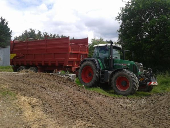 Fendt 820 et le normand