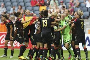 Victoire de l'Allemagne a l'Euro 2013 en Suède.