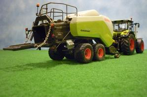 claas axion 850 + quadrant 3300