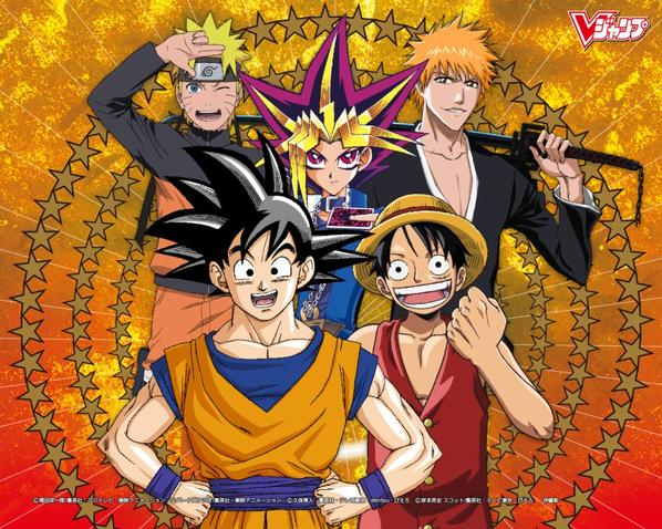Top 5 manga animes les plus celebre au monde ^^