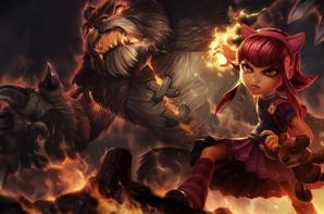 Mon perso dans league of legends annie <3
