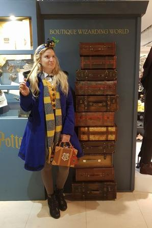 ϟ GALERIES LAFAYETTE - POP STORE HARRY POTTER ϟ
