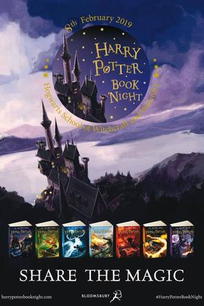 ϟ HARRY POTTER BOOK NIGHT - 8 FEVRIER 2019, LIBRAIRIE WHSMITH DE PARIS ϟ