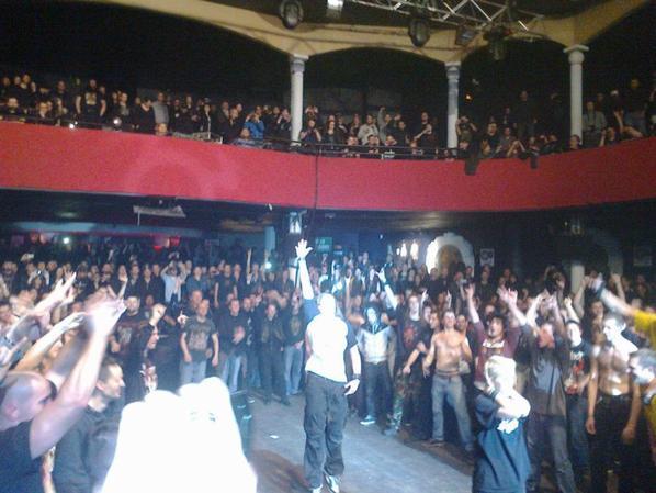 Devildriver (24 fevrier 2013) Bataclan !!