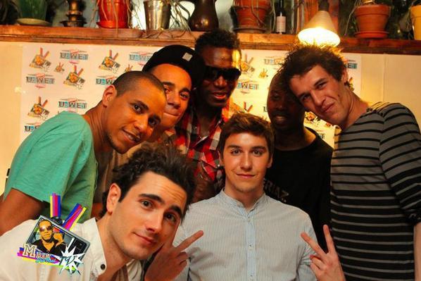Avec MRICK et toute son équipe de Webrealtv à Vincennes.