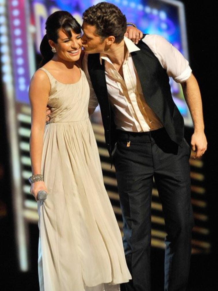 Glee's Lea Michele & Matthew Morrison at 2010 Tony Awards