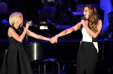 "Kristin Chenoweth & Lea Michele ""For Good"" Hollywood Bowl le 21 Juin 2014"