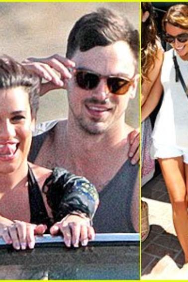 Lea Michele et Matthew Paetz, les premières photos avec son nouveau petit copain dévoilées