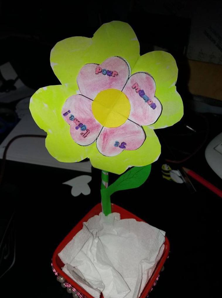 prototype pour la fêtes des mamans avec les patrons